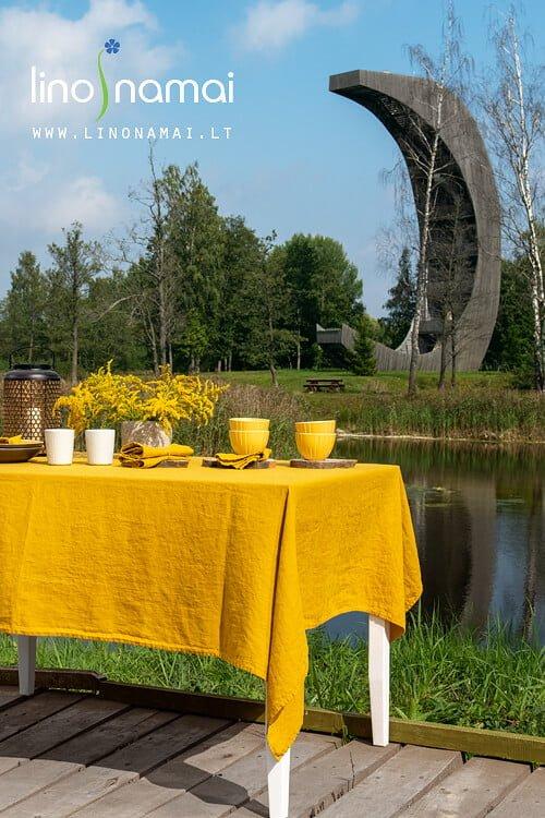 Rudeniškas stalo dekoras | Lino Namai